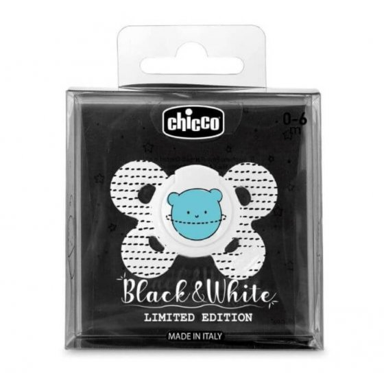 CHICCO PHYSIO COMFORT BLACK&WHITE EDITION 0-6M