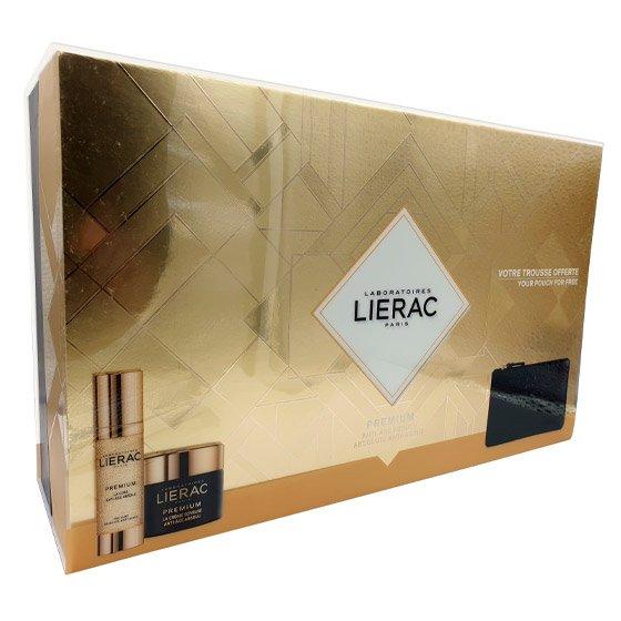 LIERAC PREMIUM CREME SEDOSO 50 ML + LA CURE ANTI-AGE ABSOLU CONCENTRADO 30 ML COM OFERTA DE RUE DES FLEURS MONACO BOLSA