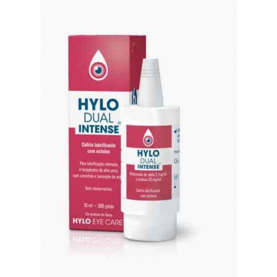 Hylo Dual Intense Colírio Lubrificante Para Olho Seco 10ml