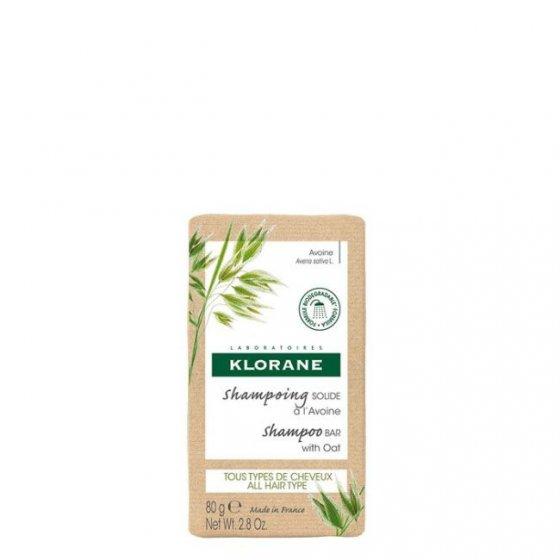 Klorane Aveia Bio Shampoo Sólido 80gr
