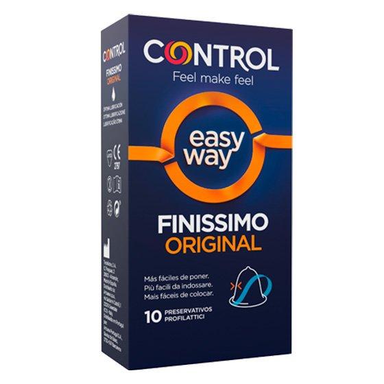 CONTROL FINISSIMO ORIGINAL PRESERVATIVOS EASY WAY X10