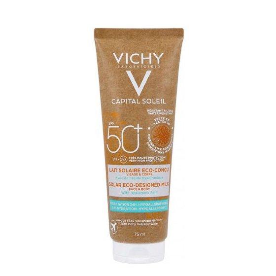 VICHY CAPITAL SOLEIL LEITE ECO SPF50 75ML