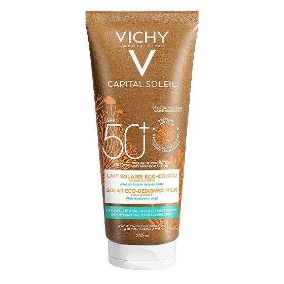 VICHY CAPITAL SOLEIL LEITE ECO SPF50 200ML