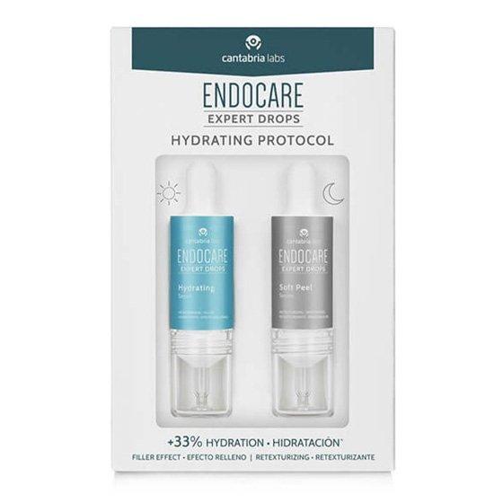 Endocare Expert Drops Hydrating Protocol Sérum Hidratante 10ml + Sérum Retexturizante 10ml