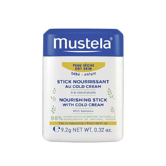 MUSTELA BEBE PELE SECA HYDRA STICK COLD CREAM 10,1ML
