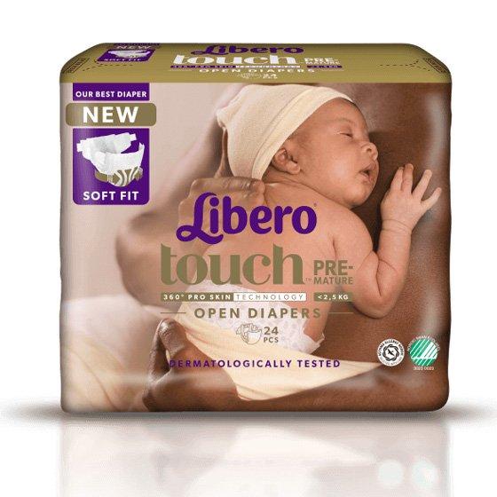 Libero Baby Comfort Fralda Prematuro X 24