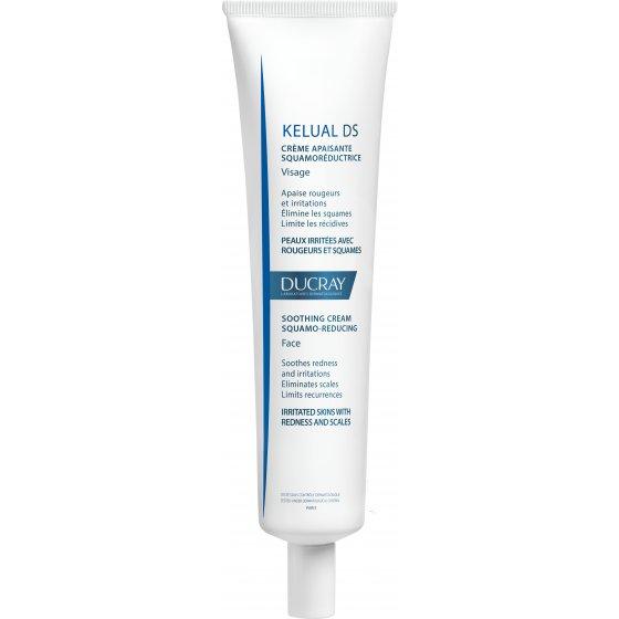DUCRAY Kelual DS Creme Suavizante Queratorredutor para rosto, tronco e pálpebras com estados descamativos severo. Embalagem de 40 ml