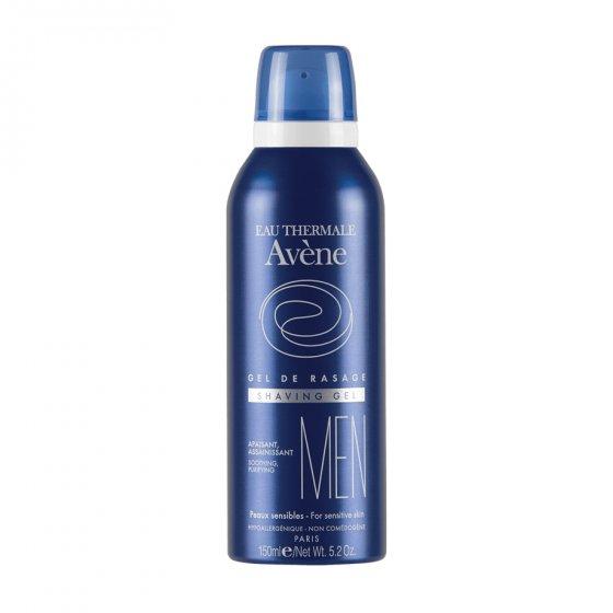 AVÈNE Gel de barbear para pele normal a mista. Embalagem de 150 ml