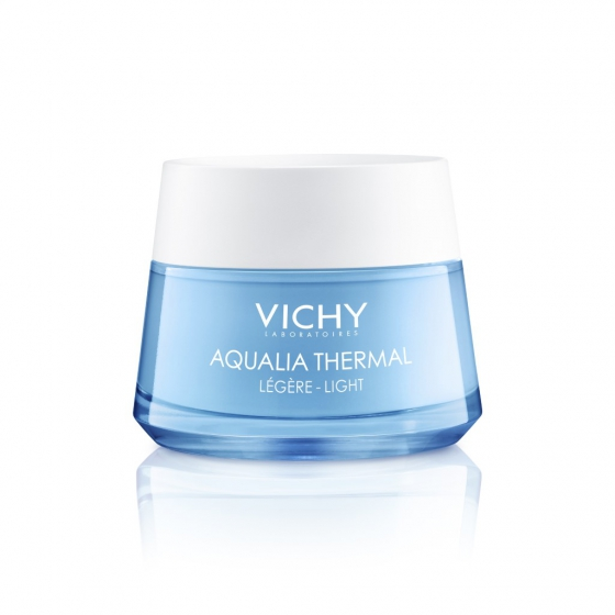 Vichy Creme Dia Ligeiro Reindratante Pote 50ml