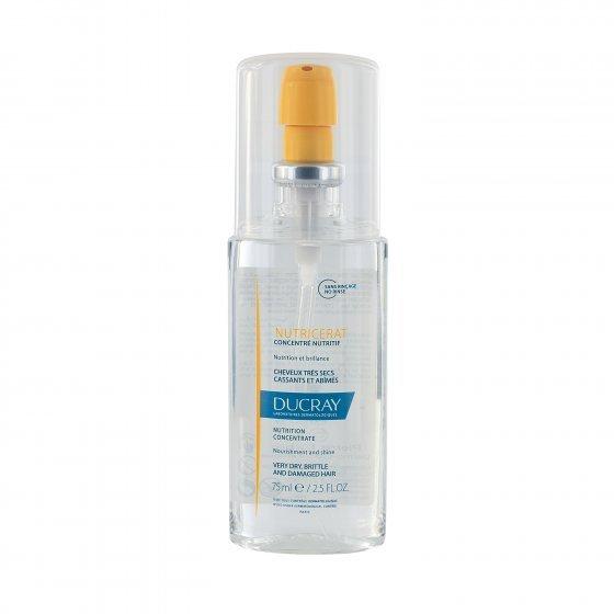 DUCRAY Nutricerat Concentrado Ultranutritivo para cabelos secos e desnutridos. Embalagem de 75 ml