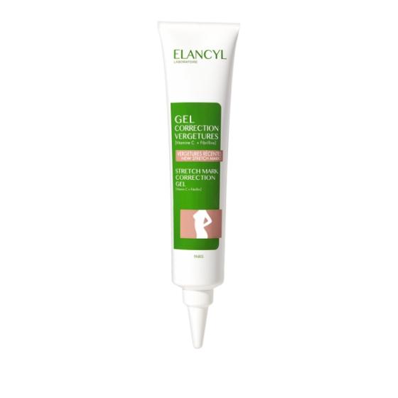 ELANCYL Elancyl Gel Corretor de Estrias para correção de estrias recentes. Embalagem de 75 ml