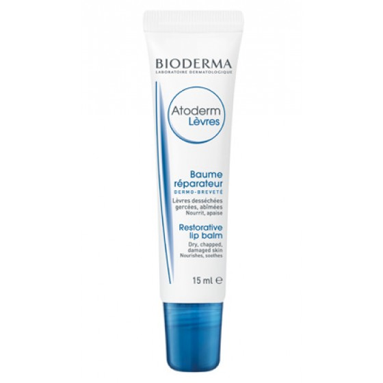 BIODERMA ATODERM LIP BALSAMO 15 ML