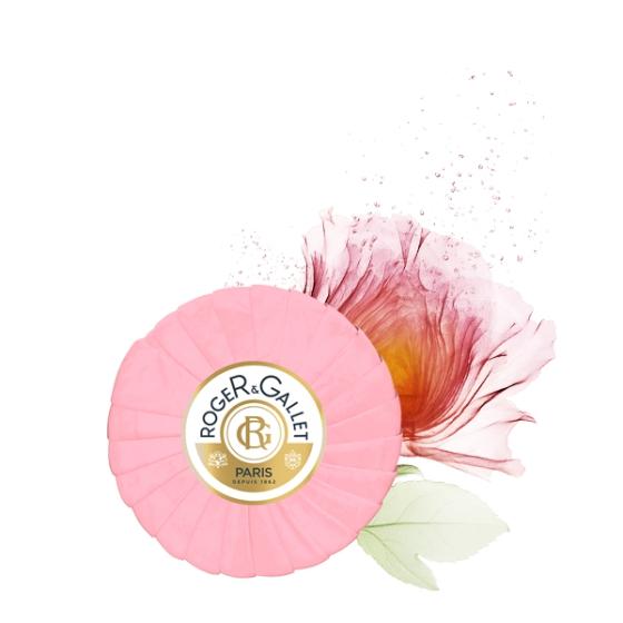 ROGER & GALLET ROSE SABONETE VIAGEM 100G