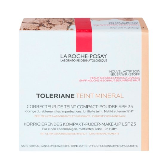 LA ROCHE-POSAY TOLERIANE TEINT 11 COMPACT PO MINERAL FP25 9,5G