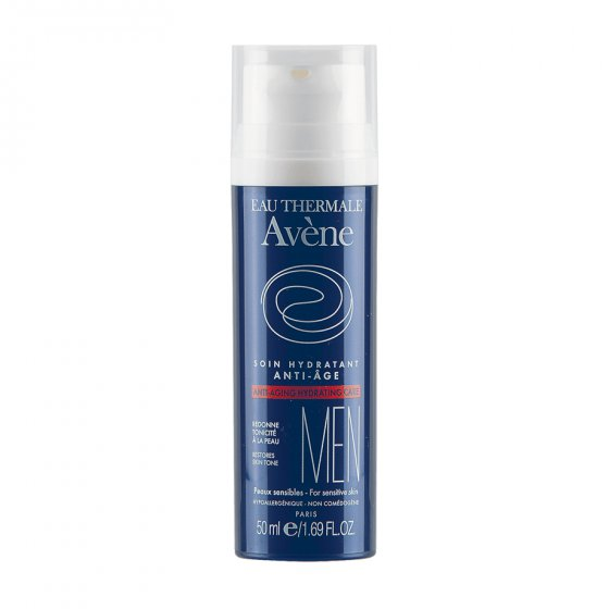 AVÈNE Cuidado Hidratante Anti-rugas para todos os tipos de pele. Embalagem de 50 ml