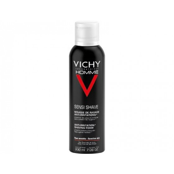 VICHY HOMME MOUSSE BARBEAR IRRITACOES 50ML