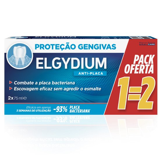 ELGYDIUM PASTA DENTIFRICA GENGIVAS 75ML DUO