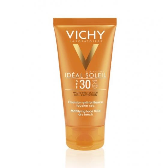 VICHY IDEAL SOLEIL CREME ROSTO TOQUE SECO FP30 50ML