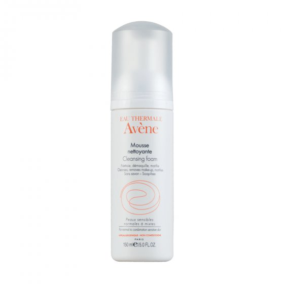 AVÈNE MOUSSE DE LIMPEZA MATIFICANTE 150ML