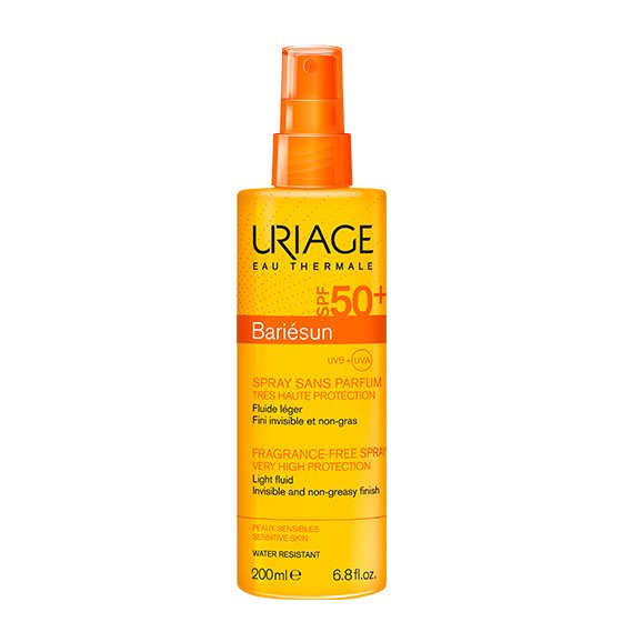 URIAGE BARIESUN SPRAY SPF50+ SEM PERFUME 200ML