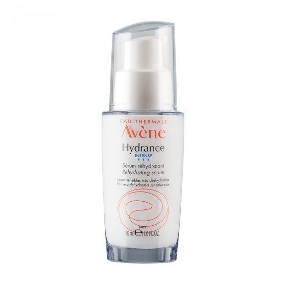 AVÈNE Hydrance Sérum Hidratante para pele sensível desidratata. Embalagem de 30 ml