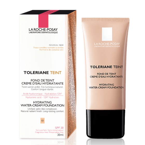 La Roche-Posay TOLERIANE TEINT 03 AQUACREME HIDRA 30ML