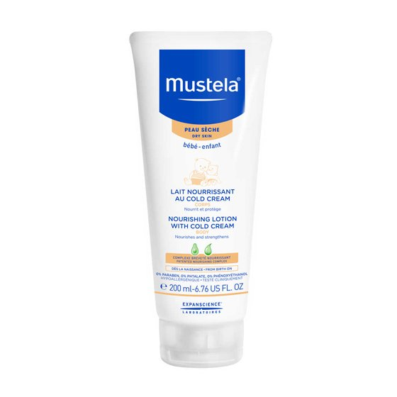 MUSTELA BEBÉ LEITE CORPO COLD CREAM 200ML