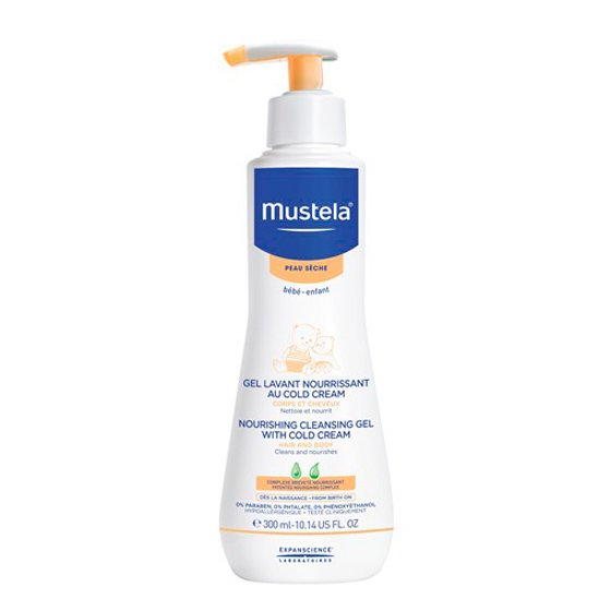 MUSTELA BEBE GEL LAVANTE COLD CREAM 300ML