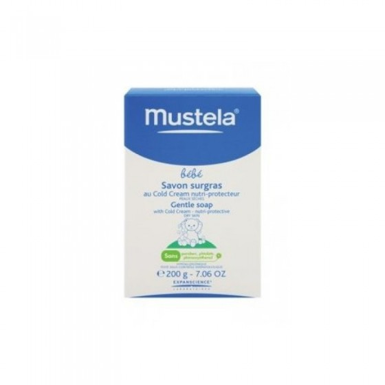 MUSTELA COLD CREAM SABONETE GORDO 150G