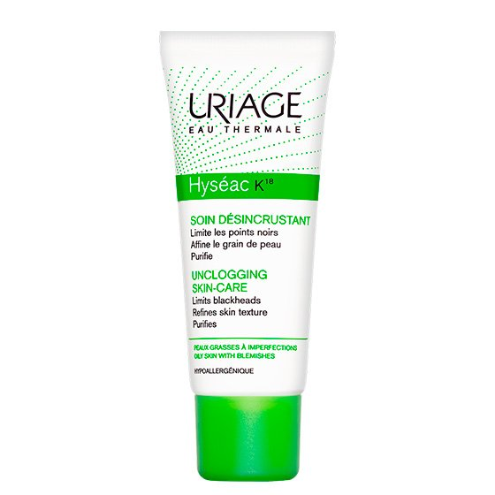 URIAGE HYSEAC EMULSAO K18 40ML