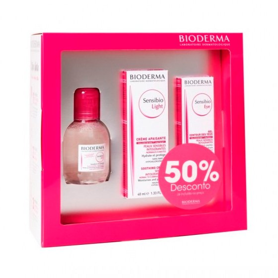 BIODERMA SENSIBIO COFFRET NATAL SENSIBIO LIGHT