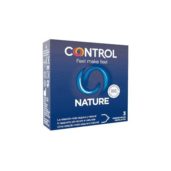 Control Nature Adapta Preservativos x3