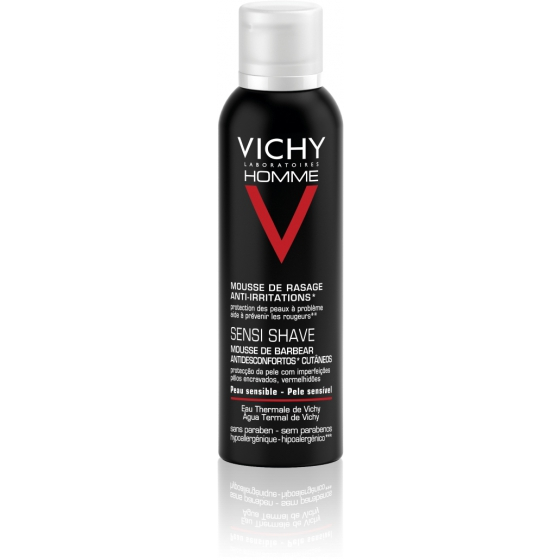 Vichy Mousse de Barbear Anti-irritações 200ml
