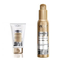 DERCOS TECHNIQUE SECO BALM REPARADOR 150ML + SERUM VITAMINADO 125ML