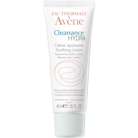 AVÈNE Cleanance HYDRA Creme Suavizante para pele oleosa de tendência acneica  40 ml