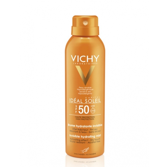 VICHY IDEAL SOLEIL BRUMA HIDRATANTE FP50 200ML