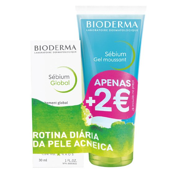 BIODERMA SEBIUM GLOBAL PROMO + GEL MOUSSANT