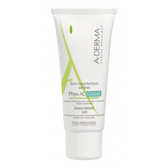 A-DERMA PHYS-AC GLOBAL CREME ANTI-IMPERFEIÇÕES 40 ML