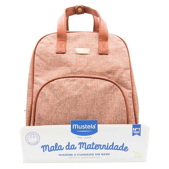 MUSTELA BEBE PROMOCAO MALA DE MATERNIDADE ROSA