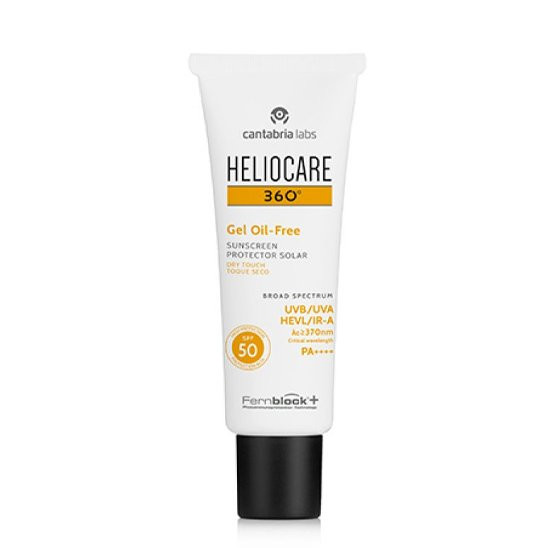 HELIOCARE 360º OIL-FREE GEL SPF50+ TOQUE SECO 50ML
