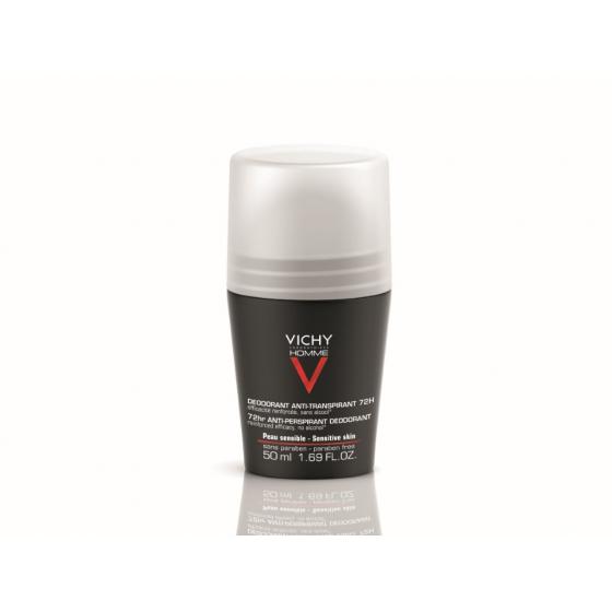 Vichy Desodorizante Roll-On Vichy Homme 72H 50ml