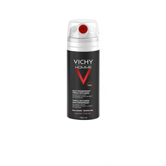 VICHY HOMME DEO TRIPLE DIFUSOR 72H 150ML