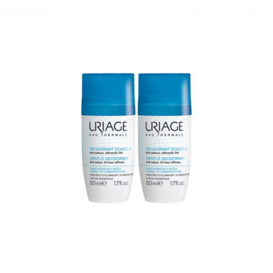 URIAGE DUO DEO ROLL ON 2 X 50 ML
