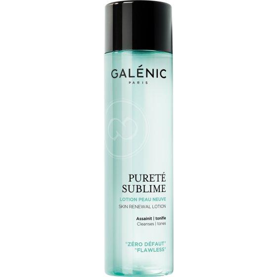 GALÉNIC Galénic Pureté Sublime Loção Pele Nova para pele oleosa de tendência acneica. Embalagem de 200 ml