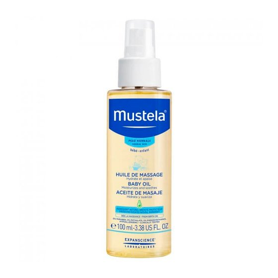 MUSTELA BEBE PELE NORMAL OLEO MASSAGEM 100ML