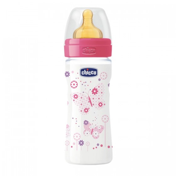 CHICCO BIBERAO BENESSERE GIRL LATEX 250ML