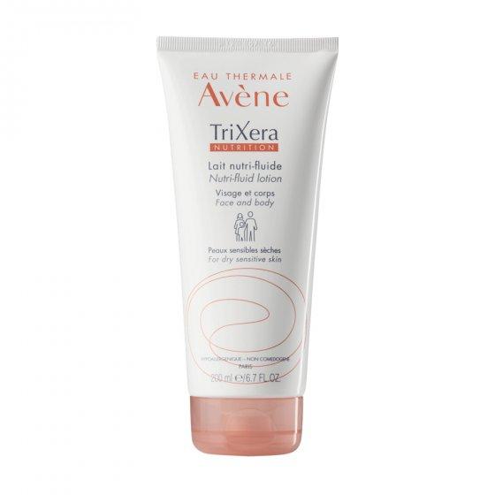 AVÈNE Trixera Nutrition Leite para pele seca e muito seca. Embalagem de 200 ml