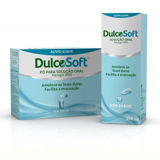 DULCOSOFT PO SOLUCAO ORAL SAQUETAS 10 G X 20