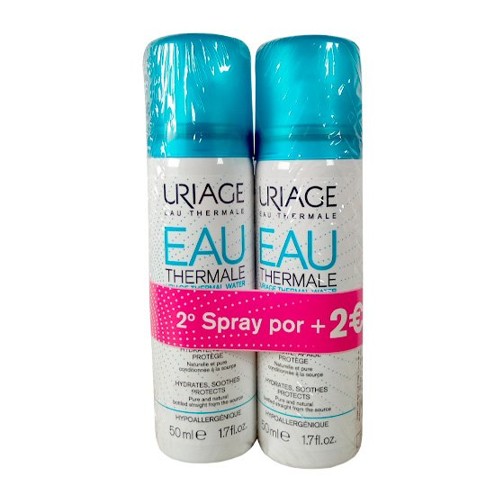 URIAGE AGUA TERMAL 50ML DUO + DESCONTO 2E
