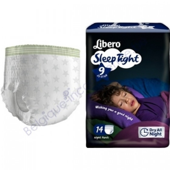 LIBERO SLEEPTIGHT CUECA ABSORVENTE 20-37KG T9 X 14